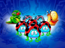 Spiele Beetle Mania kostenlos – die Glückskäfer helfen dir dabei