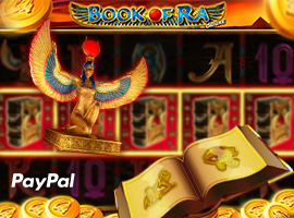 Bewundern Sie die Rätsel des ewig aktuellen Highlights Book of Ra PayPal