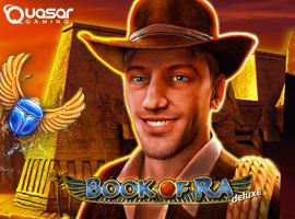 Klassische Version vom Quasar Gaming Book of Ra Slot