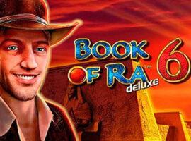 Book of Ra Deluxe 6 kostenlos in Online Casino spielen