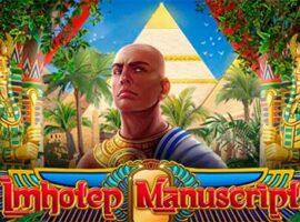Imhotep Manuscript Slot Übersicht auf Bookofra-play
