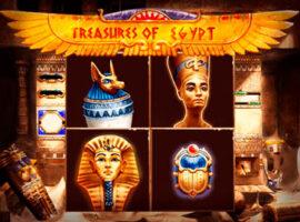 Treasures Of Egypt Spielautomat Übersicht auf Bookofra-play